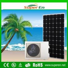 hybrid air conditioner, cooling&heating 48V 12000BTU 100% DC hybrid solar air conditioning split system