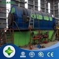 حماية البيئة استخراج النفط من الاطارات المستعملة دون انبعاث