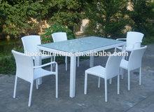 outdoor rattan dining set / garden dinning sets furniture