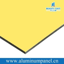 weather resistance acp plastic corrugated sign board material aluninum composite decoration