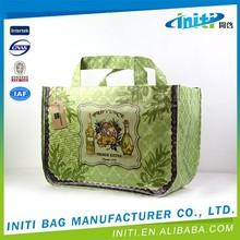 Custom fashion china pp woven shopping bag supplier