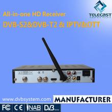 Best sale DVB-S2 HD STB with IPTV OTT