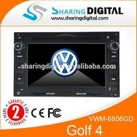 vw golf 4 car multimedia dvd player