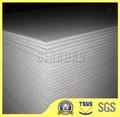 tamanho padrão do teto de gesso resistentes à umidade placa de gesso drywall