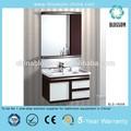 La elegancia del pvc vanidad cuarto de baño, de la pared- montado mueblesdebaño, cerámica cuenca del cuarto de baño del gabinete