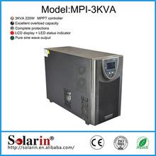 China portable pwm dc 12v ac 220v solar inverter