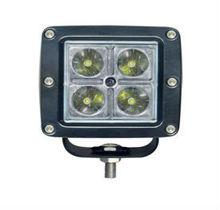 12W off road 4x4 led light beam for truck auto part utv led work light tractor lamp