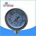/gnc glp/ngv de acero inoxidable de automoción/nvgnsn de gas indicador de presión/oem secuencial kit de conversión de gas gpl del cilindro de combustible de calibre