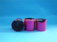 New Design!!! 24mm 28mm wooden design disc top closure plastic cap/ plastic disc top, disc top closure cap,PP disc top cap