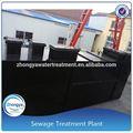 enterrado de calidad de agua de aguas residuales de las plantas de tratamiento
