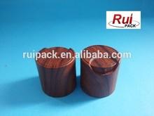 Plastic wood effect screw cap,24/410,cosmetic top cap