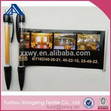 personalized black color banner pen promotional thick ballpoint pen