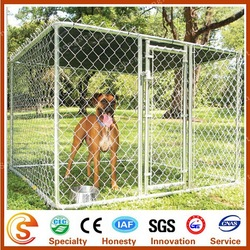 24 years factory high quality ourdoor dog fence cheap dog kennels