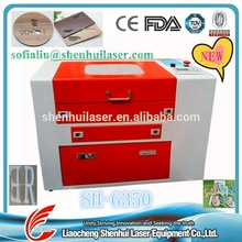 Top Sale ! Wood Photo Frame/ Craft/ Gift engrave machine/ laser cutting machine/350/3050 (need agent) skype:liu.cnlaser