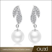 OUXI nickel free fashion austrian crystal earrings jewelry walmart
