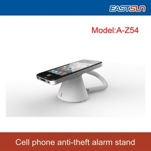 2015 Hot sale security alarm display stand for Android /IOS Cell phone