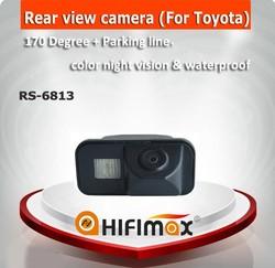 Hifimax Waterproof car camera for Toyota Crown /Corolla car rear view camera, car reverse rear view camera