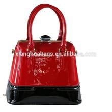 stylish Tote bag PU leather handbag fashion handbags women