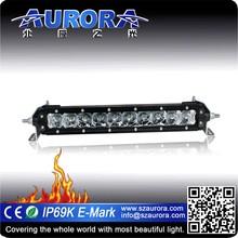 Aurora 10 inch Waterproof off road single row led light bar