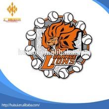 custom lorange lions baseball Trading lapel Pin