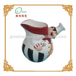 fat chef design ceramic 10 gallon water jugs