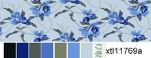 Chad comforter fabric from Changxing Polyester supplier for mattress bedsheets