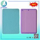 Popualr luxury smart flip cover leather case for ipad mini