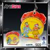 Promotion cheap medallion velvet pouch