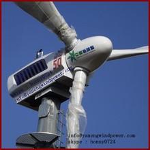 50kw windmill turbine , PLC controlled 50kw wind power , 50kw pitch controlled wind turbine price