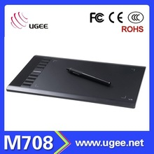 M708 UGEE High Quality Graphic tablet windows system
