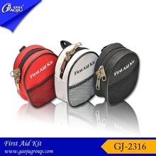 GJ-2316 Wholesale Convenient Oxford Material Mini Size Mini First Aid Kit