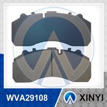 WVA29108 brake pad for DAF&MAN Bus&Truck Brake pad with repair kits