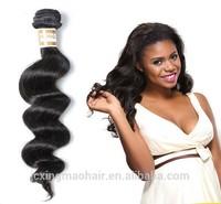 100% Natural Brazilian Hair Organic Hair Products Loose Wave Hair Long Lasting