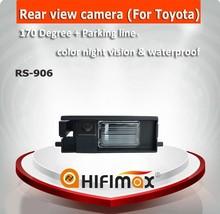 Hifimax Waterproof car camera for Toyota Rav4 car rear view camera, car reverse rear view camera