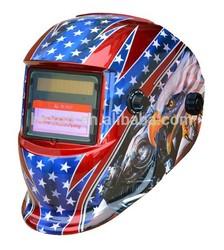 2014 new welding mask HX-TN08 auto darkening welding helmet en379 custom welding helmet/painting welding helmet for sale