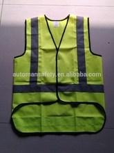 Roadway reflective Men's safety vest