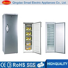 brand-new deep upright solid door freezer with 10 drawers 310L