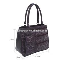 2015 trend lady women genuine leather handbag leather