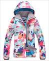 Leve jaqueta de esqui grosso roupas de grife