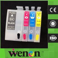 T2711-T2714 ink cartridge for Epson WF-3640 refillable cartridge with chip