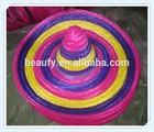 Decoration Sombrero Straw Hat for Festivals