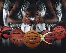 2015 High grade PU leather official size 7 basketball weight custom basketball ball