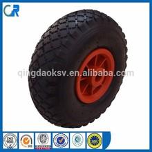 Factory Price 260*85 Pneumatic Rubber Wheel 3.00-4
