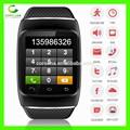 Bluetooth akıllı seyretmek telefon s12 ile pedometer/kayıt/mms/sms/alarm/kcal için android samsung s5 ve s4& s3 ve s2 ve not 3
