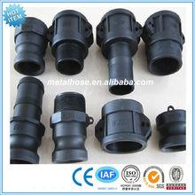 Plastic Quick coupling hose connectors/PP Camlock connector/nylon Camlock Coupling