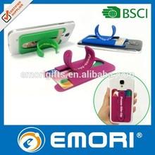 Custom made business gift reusable funny cell phone holder for desk
