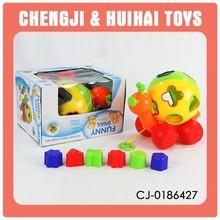plastic hand pulling toy mini block toys
