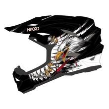 New Design Dirt bicycle Helmet N-42 CE CPSC
