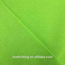 running apparel game jersey fabric poly elastic fabric polar fleece