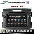 Oem android. 4.4 système audio de voiture dvd de voiture radio de navigation gps pour honda crv
